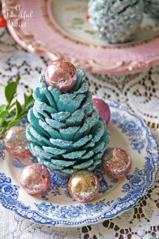 Pine cone craft 5a