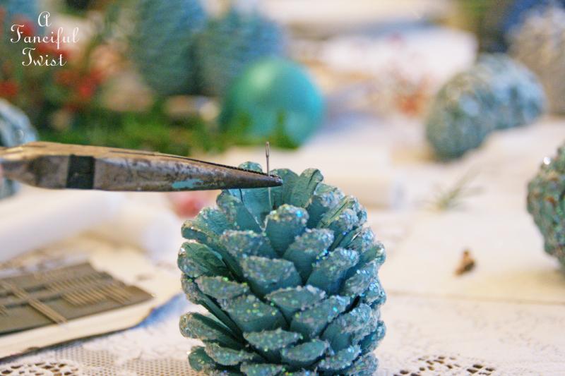 Pine cone craft 9a