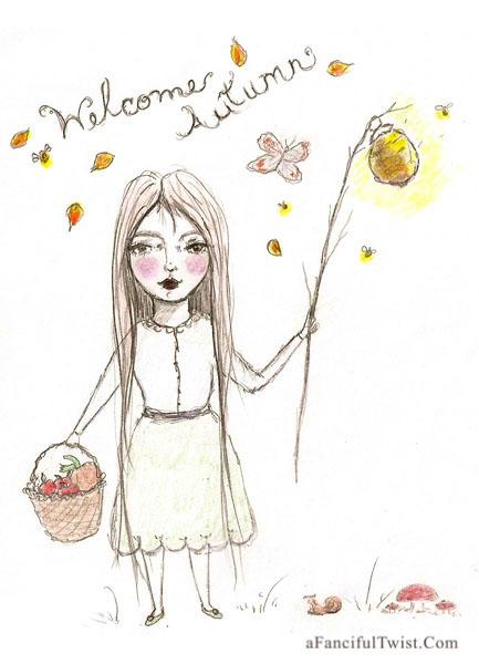 Weclome Autumn girl