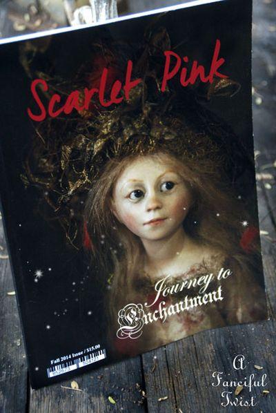 Scarlet Pink Magazine 1