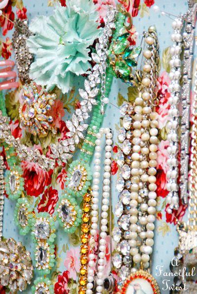 Jewelry pin board 6