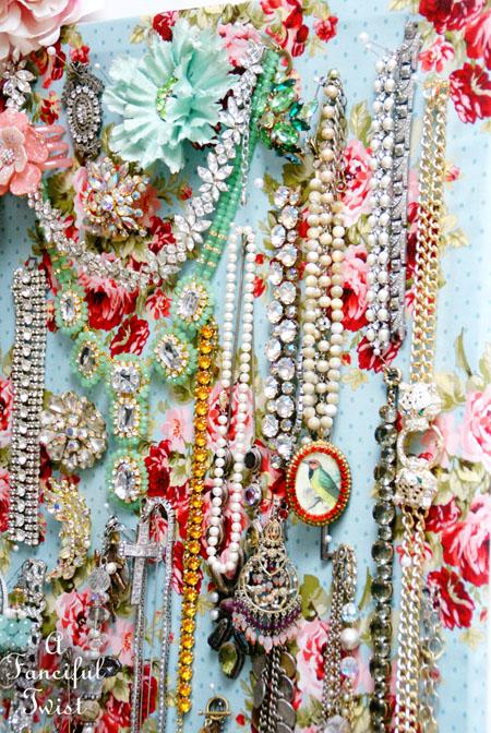 Jewelry pin board 8
