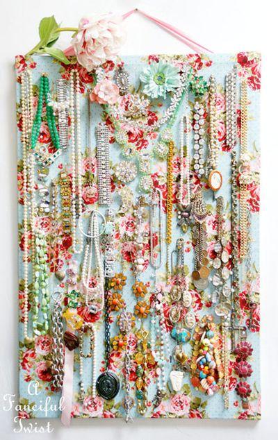 Jewelry pin board 12