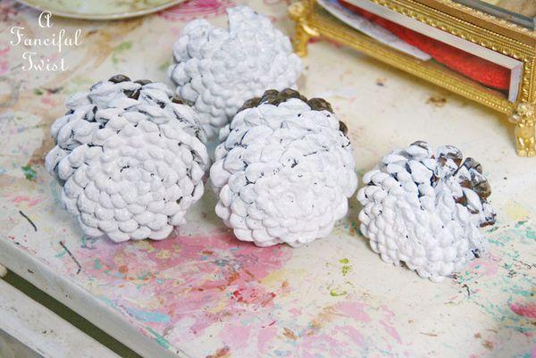 Pinecone flowers 15