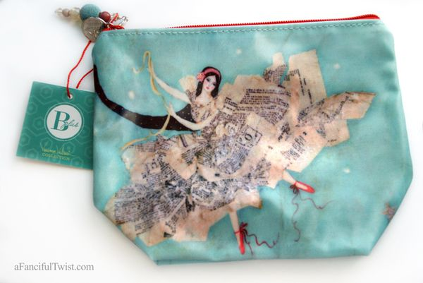 Theater of dreams large cosmetic bag