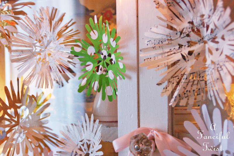Paper snowflakes 9