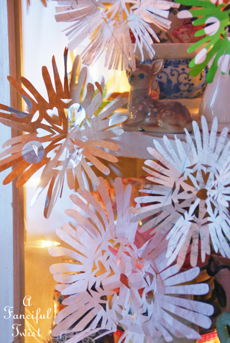 Paper snowflakes 8