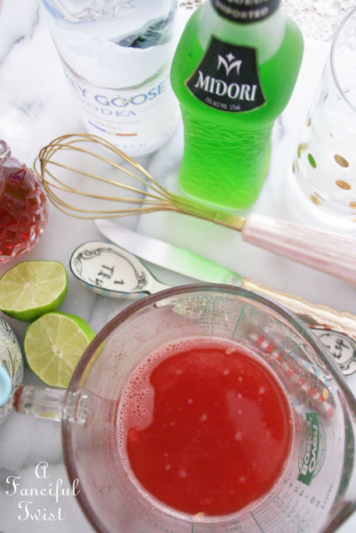 Watermelon cocktail 18