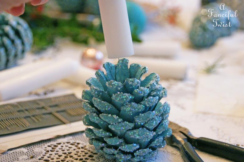 Pine cone craft 10a