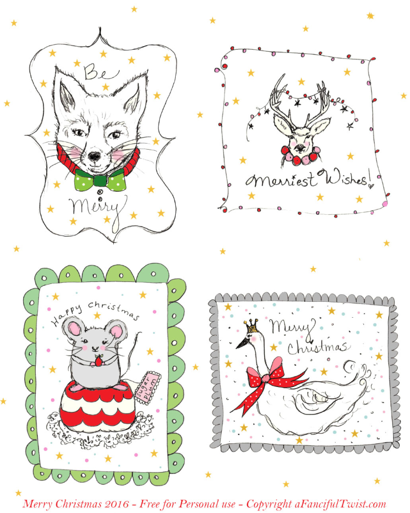 Merry Wishes A Fanciful Twist 2016