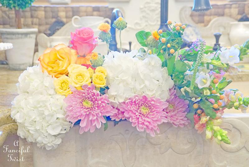 Kitchen flowers 1
