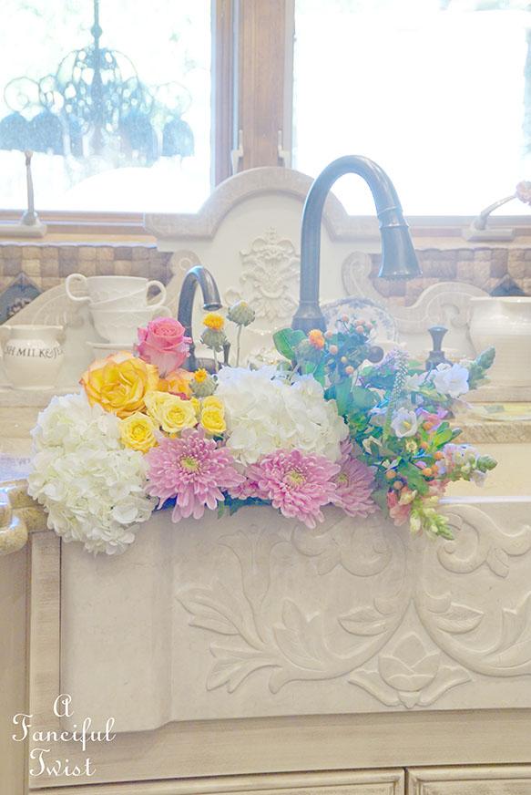 Kitchen flowers 5