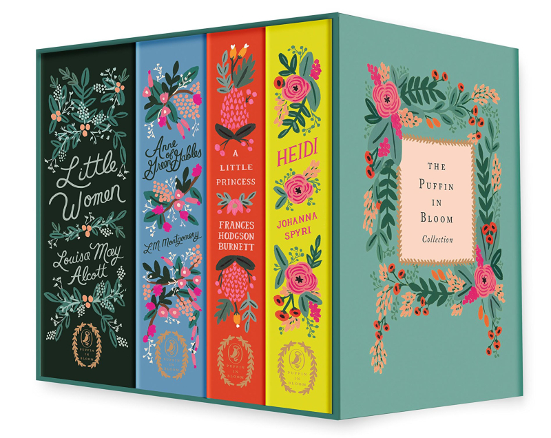 Puffin floral books