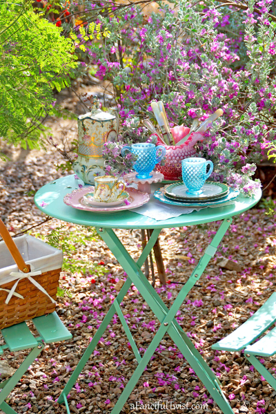 Tea in the garden 2
