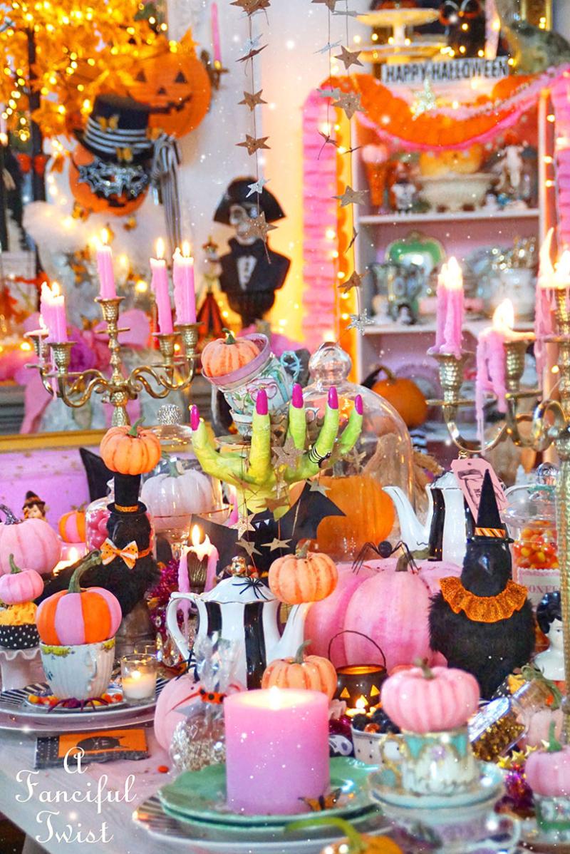 Halloween tea party 11