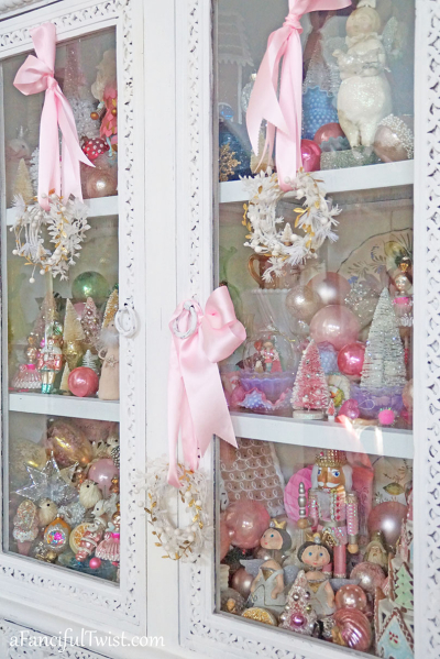 Christmas cabinet 1