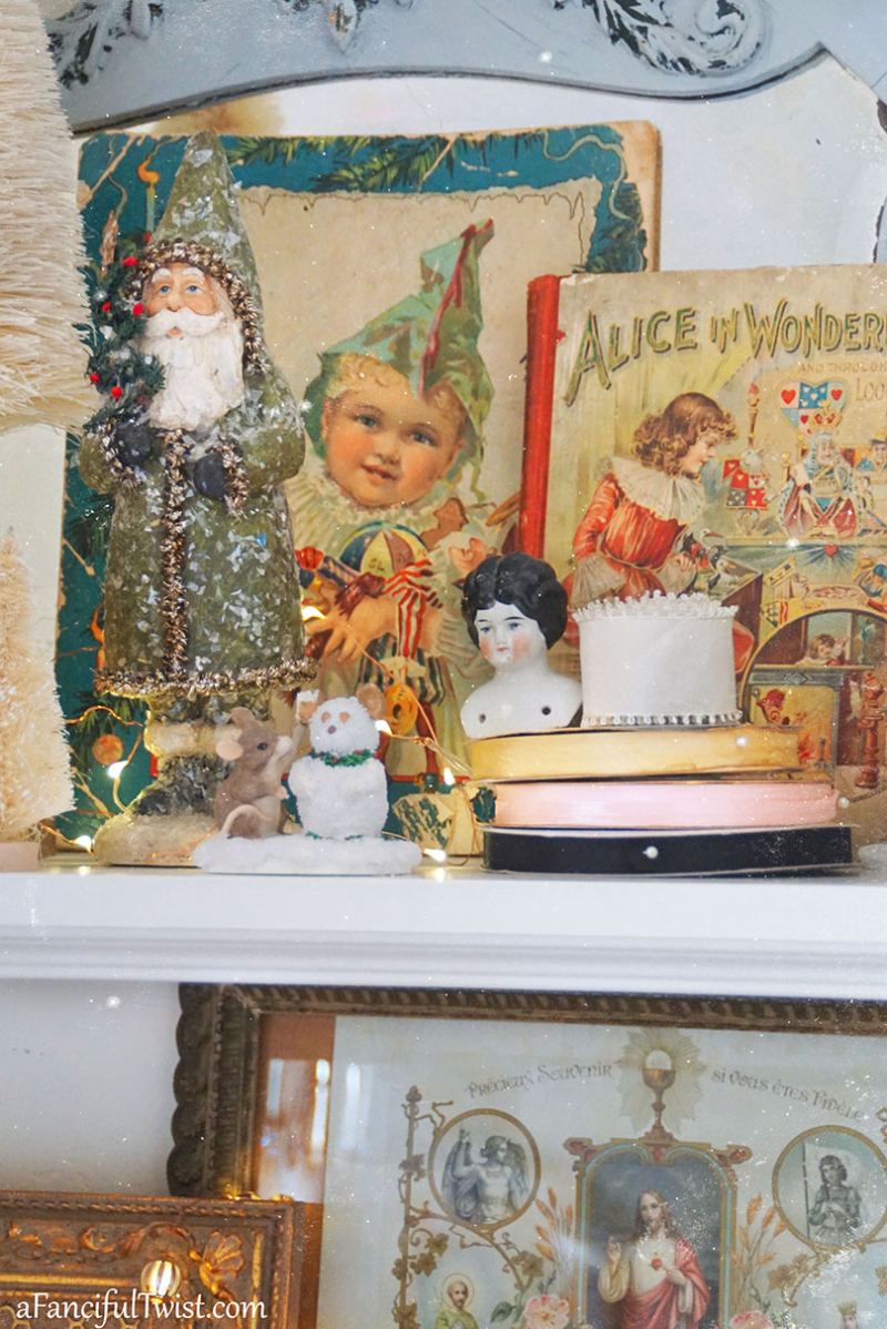 Christmas snippet fanciful 24