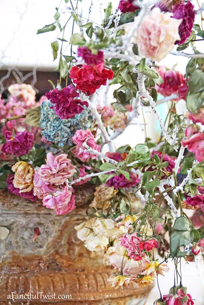 Decorating with flowers 11