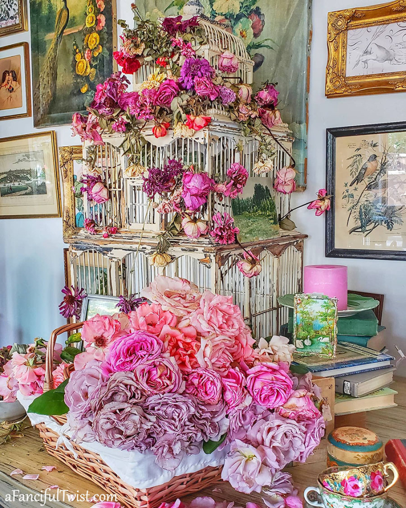 Decorating with flowers 21