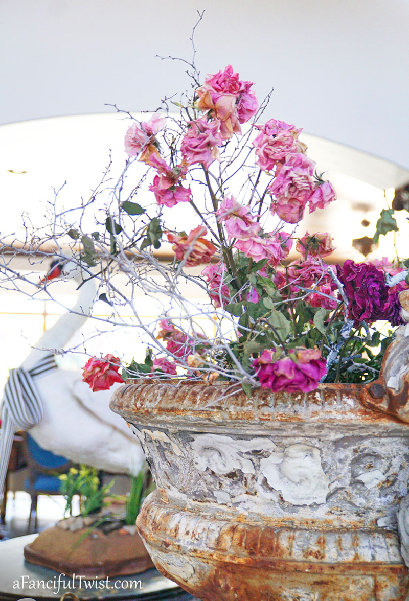 Decorating with flowers 8