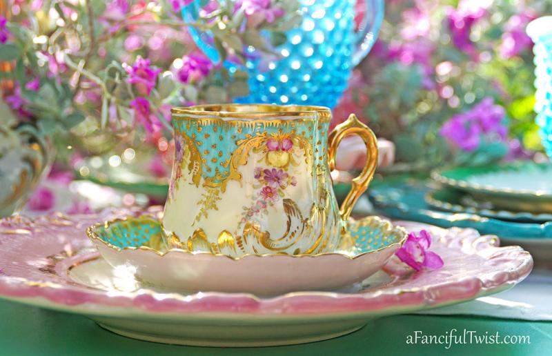 Tea in the garden 6