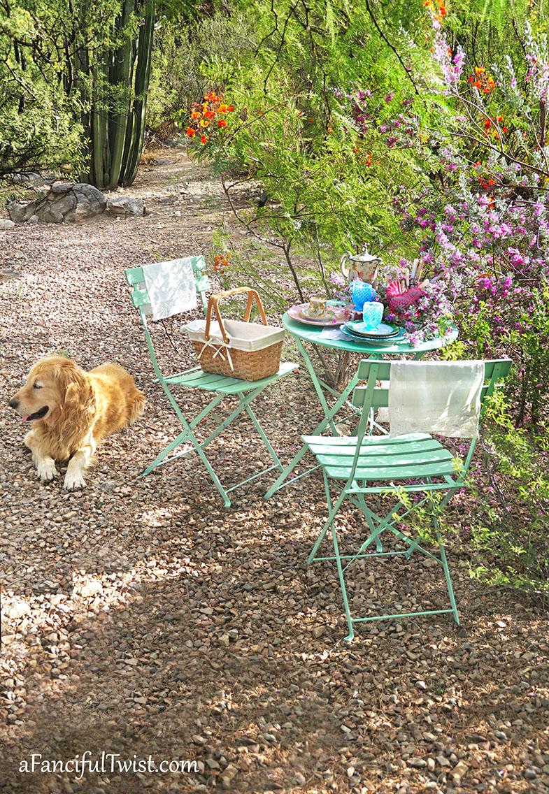 Tea in the garden 11