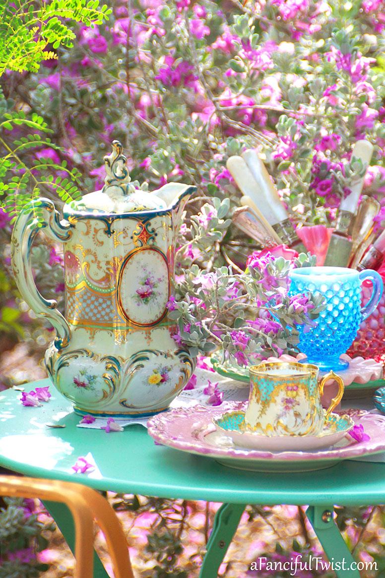Tea in the garden 15