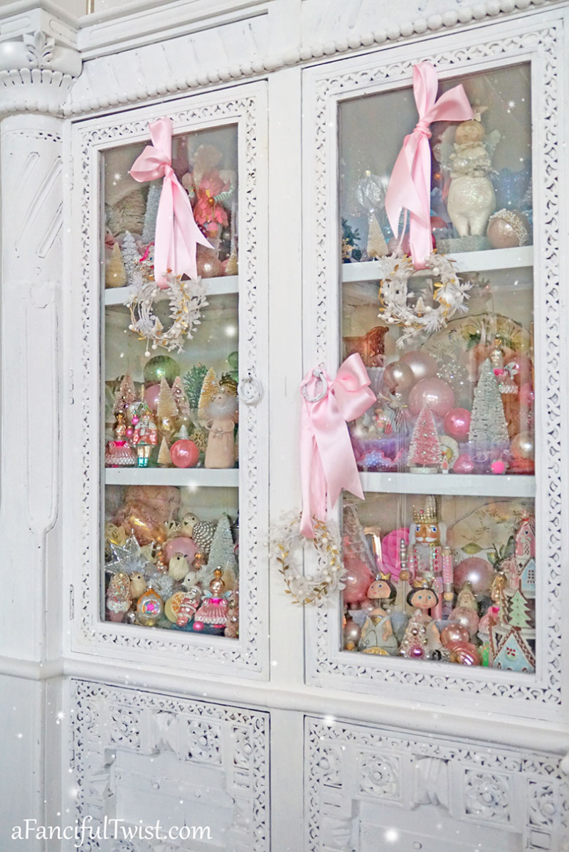 Christmas cabinet 2