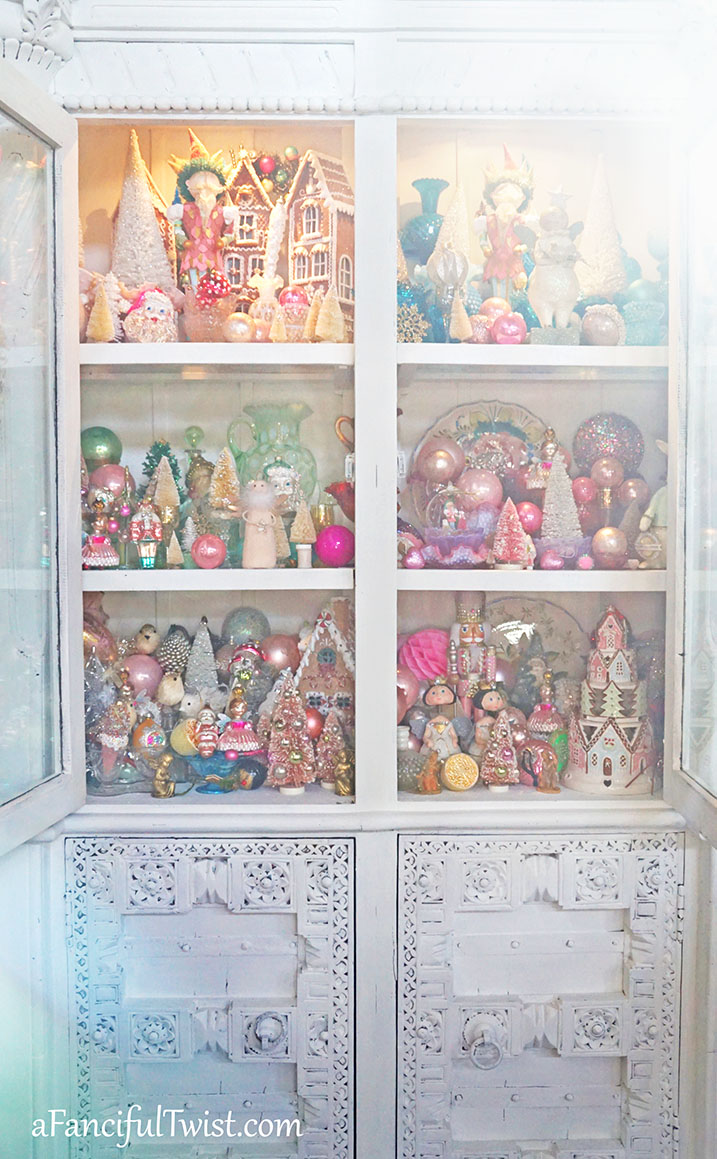 Christmas cabinet 6
