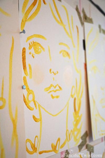 Homemade tempera paint 17
