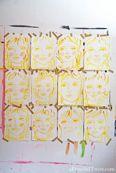 Homemade tempera paint 10