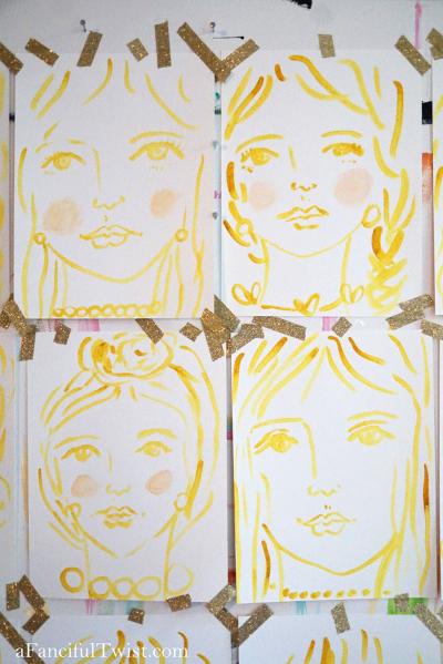 Homemade tempera paint 15