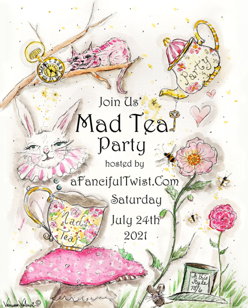 Mad Tea Party 2021 at A Fanciful Twist dot com