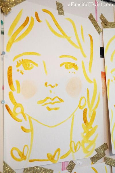 Homemade tempera paint 18