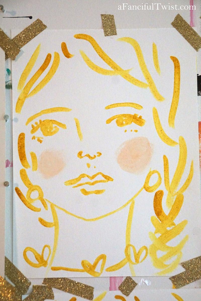 Homemade tempera paint 16