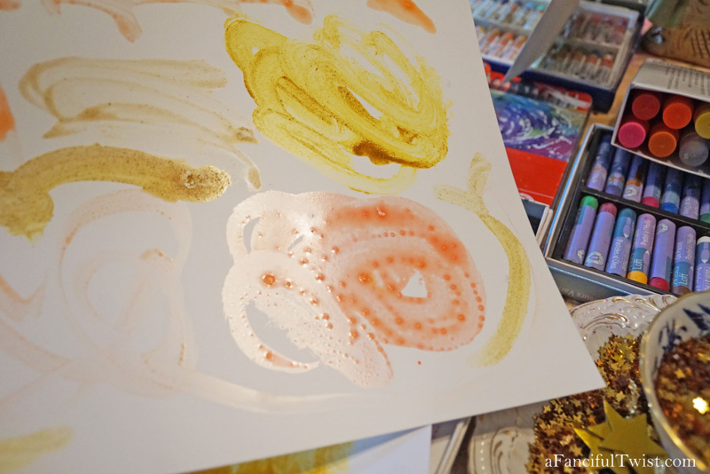 Homemade tempera paint 21