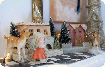 Deer_and_gnome_village