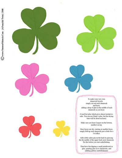 Shamrock_brooch