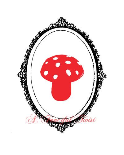 W_framed_mushroom