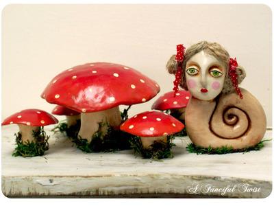 Fungi_snail_girl_set