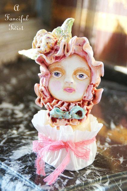 Henriette Heirloom Tea Rose Butter Cream Cake 1