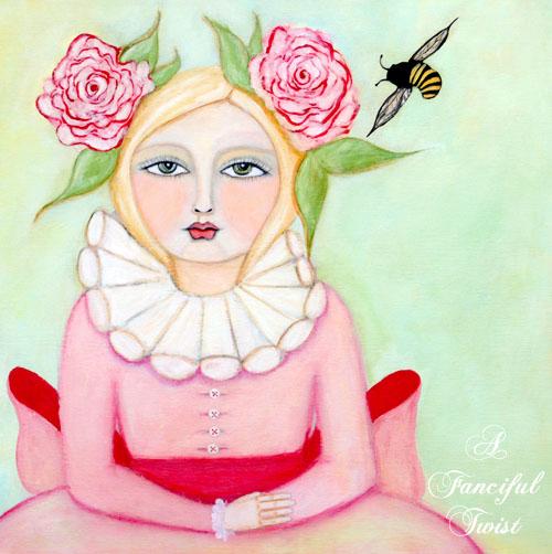 The Bee Girl - Stella Primrose Hawthorn