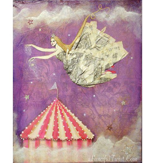 Enchanted Circus Print