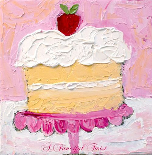 Two Layer Sweet Cake