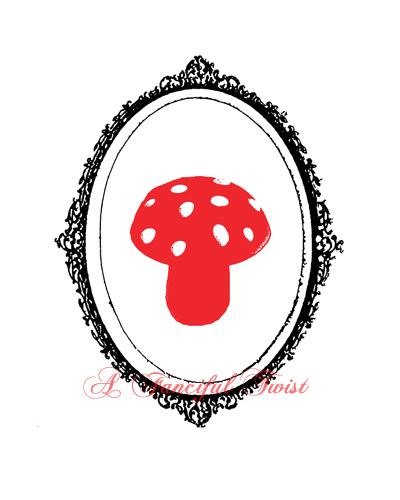 Charming Silhouettes - Mushroom Love