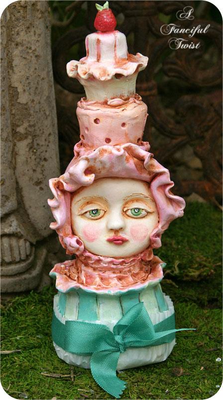 Abigail raspberry cream cake delight front