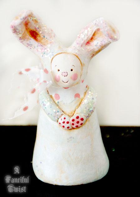 Bunny Muffin Cake 1
