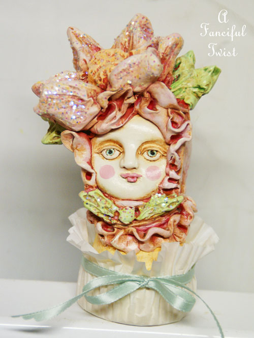 Genevieve buttercream rose cake front