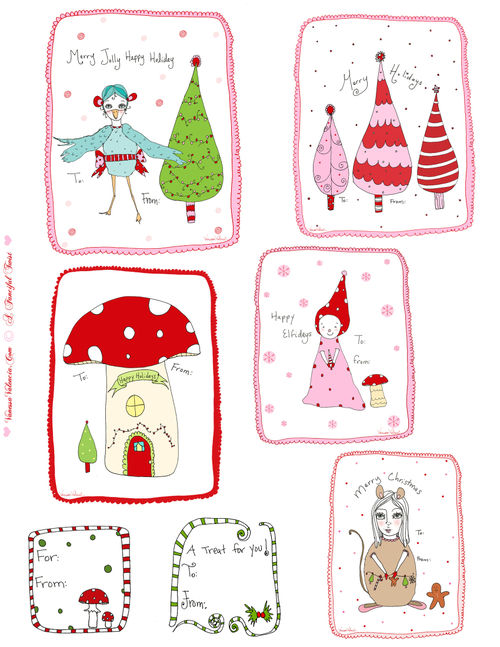 Christmas ~ Printable Gift Tags