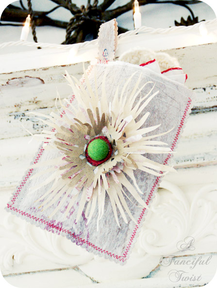 Green Holiday Gift {Fused Plastic Bags}